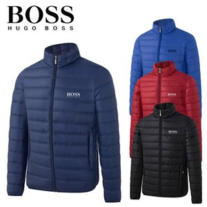 Wholesale Bosses mens designers winter coats jacket Hugo Jackets Outdoor Windproof Casual SoftShell Warm Coats luxury jacket Thicken Parkas