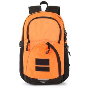 Wholesale 2019 Metal color backpack joint name snow mountain map deciduous backpack bag sports travel bag ins waterproof shoulder bag