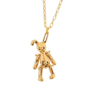 2019 Hot Ambush Slivery Golden Rose Dice Bear Rabbit Candy Fashion Women Men Unisex Necklace Streetwear Long Chain Necklace Choker Jewelry