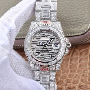 Wholesale N luxury mens watches designer watches mm silver mechanical Stainless Steel movement automatic waterproof watches men sports watch fashion