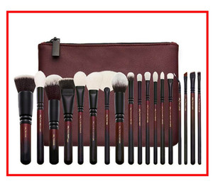 Wholesale best eyeshadow professional resale online - 2019 Brand Best quality Set Brush With PU Bag Makeup Professional Brush For Powder Foundation Blush Eyeshadow Eyeliner Blending Pencil
