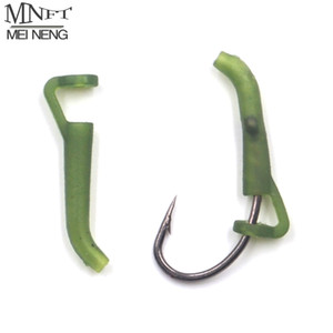 Wholesale MNFT Carp Fishing Accessories Hook Sleeves Ready D rig Line Aligner Hair Rigs Terminal Tackle Soft Rubber D Rig Pop up
