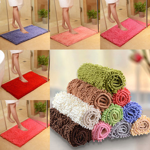 Wholesale bathrooms rugs for sale - Group buy Bath Mat For Kitchen Toliet Super Soft Non Slip Bathroom Carpet Absorbent cm Bath Rug Bedroom Rug Rectangle Carpet DHL WX9