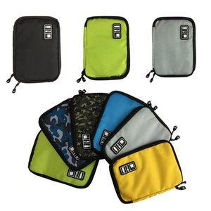Wholesale Waterproof Camping Hard Drive Organizers Earphone Cables USB Travel Case Digital Product Electronic Accessories Bag Picnic Bag