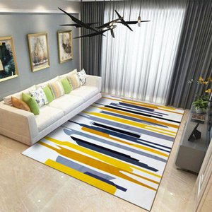 Wholesale 10 Colors Anti Slip Soft Geometric Pattern Carpet Large Size Home Area Rugs Baby Floor Crawling Mat for Living Room Kids Bedroom