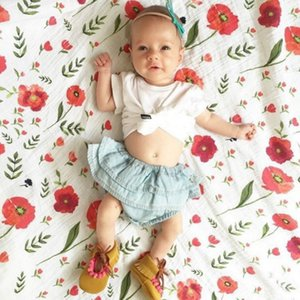 Wholesale 2019 double muslin cotton baby scarf ins multifunctional embracing blanket four seasons cotton yarn covered blanket bath towel