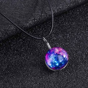 Wholesale Fantasy Star Necklace Romantic Starry Sky Pendant Necklace Women Fashion Necklaces Great Jewelry Gifts Styles For Friends