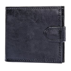 Wholesale men brief cases resale online - Card Designer Coin Men Purse Slim Brief Wallet Male Pu Leather Mens Business ID Short Case Bifold Clutch Money Bag Solid Akggk