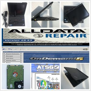 Wholesale alldata mitch ll ATSG all data in1 with hdd tb installed in laptop X200T touch screen best price ready to use