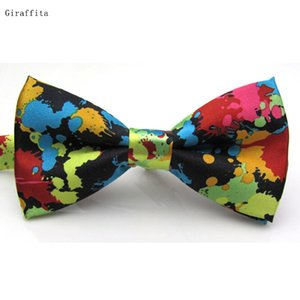 Wholesale Hot Selling New Fashion Adjustable Printed Tie Men Bowties Wedding Tie Banquet Butterfly Pre Tied Tie