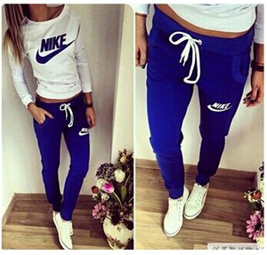 Wholesale Women s Clothing Women active set tracksuits Hoodies Sweatshirt Pants Running Sports set long sleeves and pants