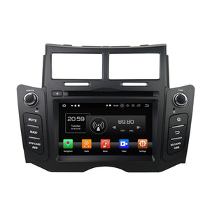 Wholesale 4GB GB Octa Core quot Android Car DVD Player for Toyota Yaris RDS Radio GPS Bluetooth WIFI USB Mirror link