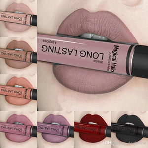 Wholesale ultra lipstick resale online - Sexy Colors Long Lasting Waterproof Lipstick Ultra Matte Liquid Lipstick Lip Gloss Labial Liquid Cosmetics Lipgloss