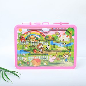 Wholesale Intelligence Toys Magnetic Maze Rollon Drawing Board WordPad Childrens Educational Multifunction Cartoon Drawing Board Gifts And Toys