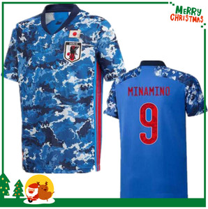 Wholesale 2019 Japan home soccer jersey national team ATOM KAGAWA ENDO OKAZAKI NAGATOMO HASEBE KAMAMOTO Adult man and kids kit football Shirt