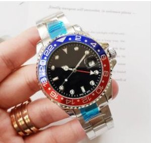 Mens Luxury Watch GMT 42mm Stainless Steel Pepsi Batman Designer Watches Automatic Movement Sweeping Sport Wristwatch