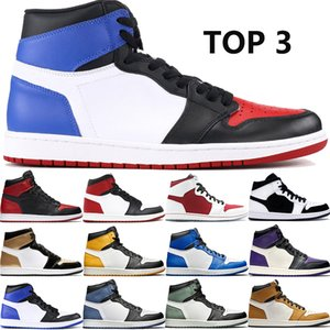 Wholesale Luxury High OG s top banned basketball shoes god toe gym red royal storm blue barons laser mens trainers designer shoes