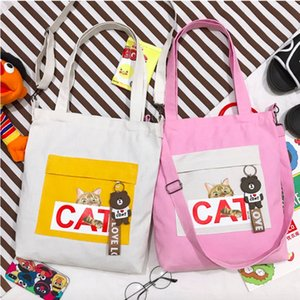 Wholesale Lovely Laptop Bag Women s Shoulder Bag Canvas Handbag Messenger Mini Crossbody Bags Girls Ladies Student School