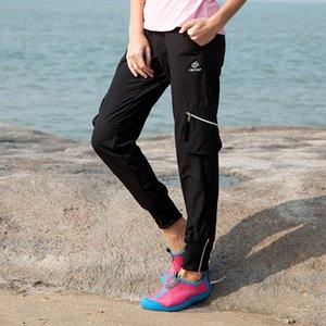New Spring Summer Women Outdoor Sport Trousers Climbing Hiking Pants Girls Thin Breathable Quick Dry Elastic Pencil Pants S-XXL