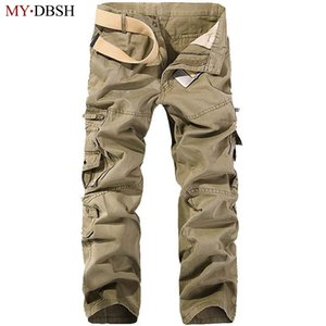 Wholesale High Quality Mens Tactical Combat Multicam Military Uniform Trousers Camouflage Army Airsoft Camo Paintball Pants C19041602