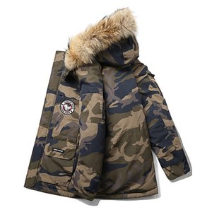 Wholesale Plus Size XL Winter Jacket Men Camouflage Army Thick Warm Coat Men s Parka Coat Male Fashion Hooded Parkas Men Snow