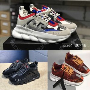 designer shoes Chain Reaction Running Shoes Mens Dad Trainers Sneakers Fashion luxury Athletic women Casual Sports Shoes size 36-45 on Sale
