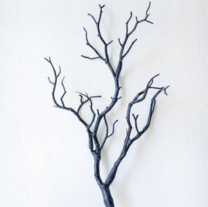 Plastic Artificial Plants Wedding Decoration Dried Tree Home Decor Peacock Coral Branches J2Y on Sale