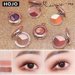 HOJO Pocket Watch Eye Shadow 6 Colors Portable Tray Natural Shimmer Matte Eyeshadow Palette Brand Professional Makeup Pallete
