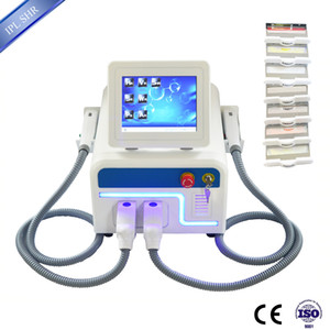 Wholesale Three in one Portable OPT SHR + Nd Yag laser beauty machine laser hair removal SHR machine ndyag laser tattoo removal system free shipping