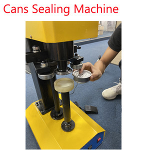 Wholesale Automatic smartbud aluminum 420 Dry Herb Flower Tin cans sealing machine easy operate beer can sealer plastic metal 710 tin cap