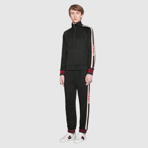 Mens Designer Tracksuits Fashion Italy Jackets Pants Letter With Label Tag Casual Suits Running Spring Fashion Sets Men Autumn Luxury Kits on Sale