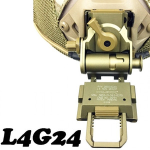Wholesale CQC Aluminum L4G24 Airsoft Tactical Helmet NVG Mount For Night Vision Goggle AN PVS