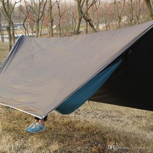 Wholesale Outdoor Portable Multi purpose Canopy Hammock Waterproof Sunscreen Awning Shade Tent Hammock Canopy