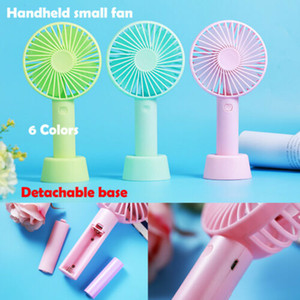 Wholesale Rechargeable USB Fan Air Cooler Mini Operated Hand Held Protable With Battery AU USB Gadgets
