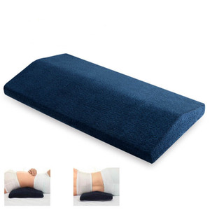 Wholesale Long Comfort Soft Lumbar Support Cushion Memory Foam Office Chair Bed Back Waist Support Pregnant Women Wedge Sleeping Pillow