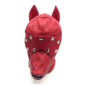 Dog Role Play Puppy Play Dog Hood Mask Dog's Paw Glove Crawl BDSM Bondage Dog Tail Plug Sexy Costume Fetish Sex Toys for Couples T191024