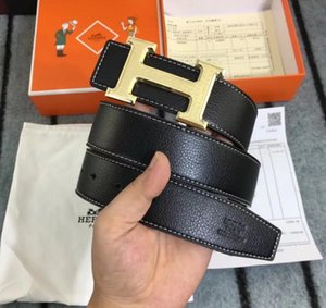 2020 new designe belts, men's Hermès buckle belts, fashionable ladies' belts, lovers belts wholesale free delivery. and box