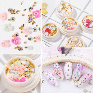 Wholesale nails crystals resale online - 5 Colors Optional Mixed Size Nail Rhinestone Stones Irregular Beads Manicure D Crystal Nail Art Decorations Drop Shipping