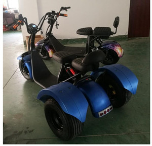 X7 electric car battery electric tricycle with differential wide tire lithium battery on Sale