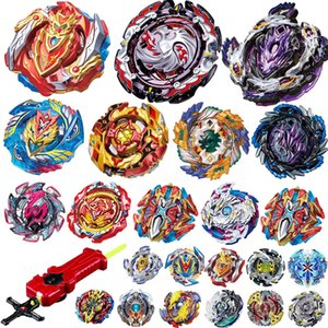 Wholesale Differet Designs Top Launchers Beyblade Burst Toys bables Toupie Bayblade burst Metal God Spinning Tops Without Launcher Toy for kids play