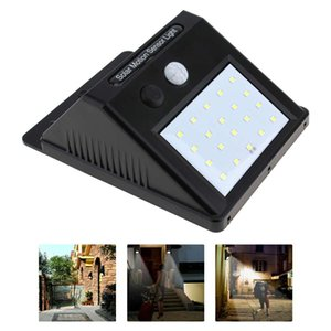 New LED Solar Power Spot Light Motion Sensor Outdoor Garden Wall Light Security Lamp Gutter OOA3130