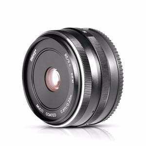 Wholesale sony mirrorless camera resale online - MK E mm f Fixed Manual Focus Lens for Sony E mount A6500 A6300 A6000 A5100 A5000 NEX7 Mirrorless Camera