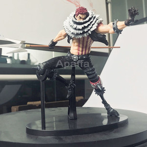 15 CM Anime Figure One Piece Action Figure KOA King of Artist Charlotte Katakuri PVC Collectible Model Toy Gift Toy for Children T200704