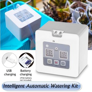 Wholesale day timers for sale - Group buy DIY Micro Automatic Drip Irrigation Kit Houseplants Self Watering System with Day Programmable Water Timer USB Battery Power Operation