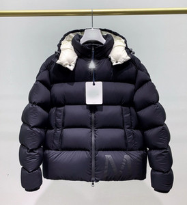 Wholesale Luxury Canada Winter Jacket Mens Design Down Parka Outerwear Big Fur Hooded Canada Down Jacket Coat Size S XXL