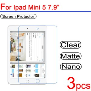 Wholesale 3pcs Ultra Clear PET Soft LCD For Ipad Mini Screen Protector Guard Cover for Ipad Mini quot Tablet Protective Film