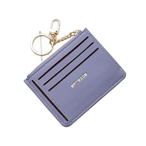 Wholesale Women Short Wallet Cute Small Fresh Student Bag Simple Solid Color Multi card Seat Buckle Coin Purse Billeteras Para Mujer