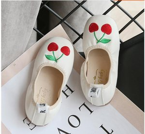 Wholesale 2019 autumn new girl with one foot soft bottom lovely bow tie single shoe egg roll shoes