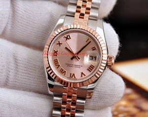 Wholesale latest ladies watches for sale - Group buy Latest style Luxury Womens Watch Diamond mm Roma Dial Rose Gold Steel Movement Automatic Watches Lady Wristwatch