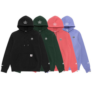 Wholesale Aape Brand New Mens Designer Hoodies Mens Casual Long Sleeves Jacket Fashion High Quality Hoodies Jacket Mens Designer Sweatshirt Colors